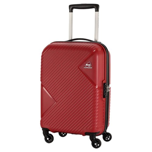 Kamiliant by American Tourister Kam Zakk Polypropylene 26 inch Red Hardsided Check-in Luggage (KAM Zakk SP 68CM - Crimson RED)